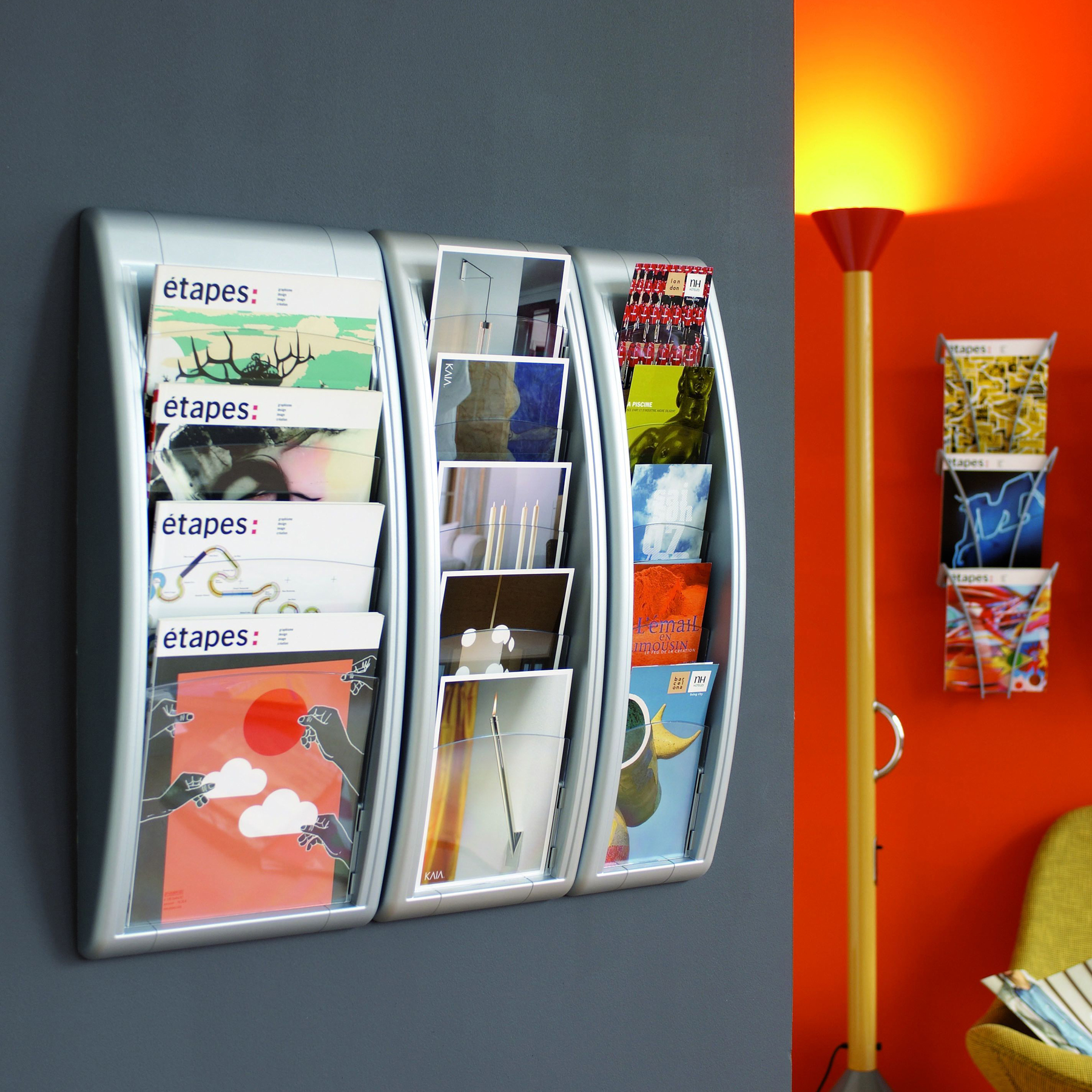 Paperflow Quick Fit Systems Wall Mounted Literature