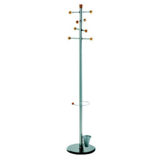 ALCO Easy Coat Rack/Stand with Eight Knobs