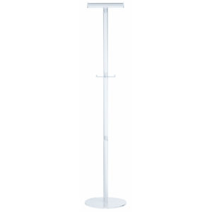 ALCO Acro Acrylic Coat Stand for Coat Hangers with Two Pegs