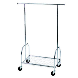 ALCO Double Sided High Capacity Mobile Garment Rack