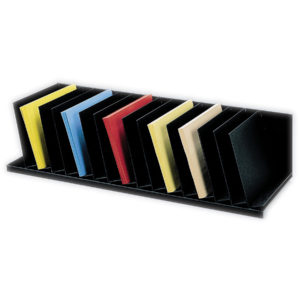 Paperflow Inclined Vertical Organizer, 31-4/7'' W, Black