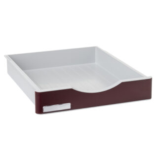 Archivo 2000 ArchivoDoc Large Size Drawer Grey/Burgundy
