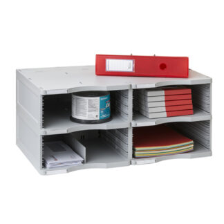 Archivo 2000 ArchivoDoc Duo Jumbo Literature & Forms Sorting Station with Four Compartments