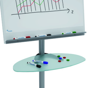 Rocada Glass Tray for Flipchart/Table