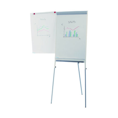 Rocada Height Adjustable Flipchart, Version 15