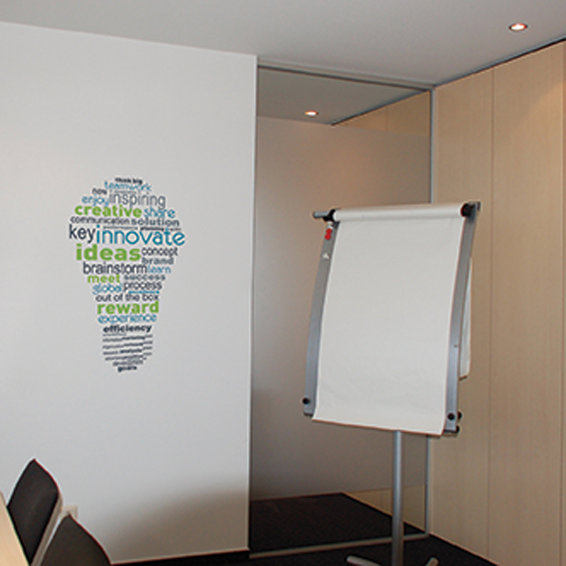 office deco. Paperflow Office Deco Wall Transfers, Inspiration Bulb 15\ Office Deco M