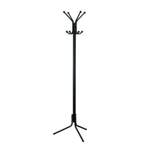 CLASSIC Light Coat Rack/Stand with Eight Large Knobs