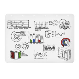 Rocada Rolled Polypropylene Whiteboard 39.5'' x 55'' 5pk